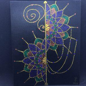 dot painting mandala dromenvanger