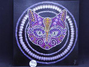 dot painting mandala poes