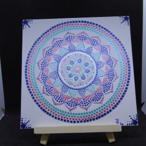 dot painting mandala