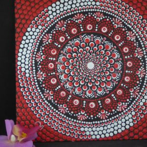 dot painting canvas peyo