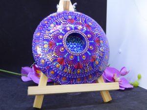 dot painting mandala steen peyo